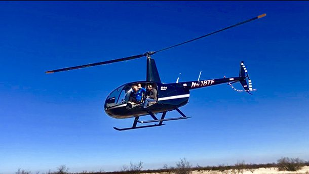 helicopter hunting trips in texas