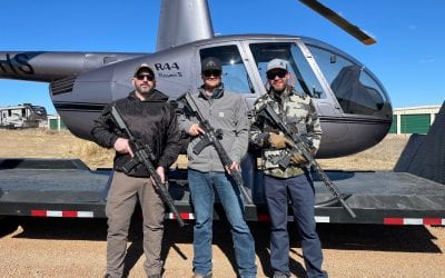 Fantastic Helicopter Pig Hunt & Sheep Hunt at Divided Find Ranch!
